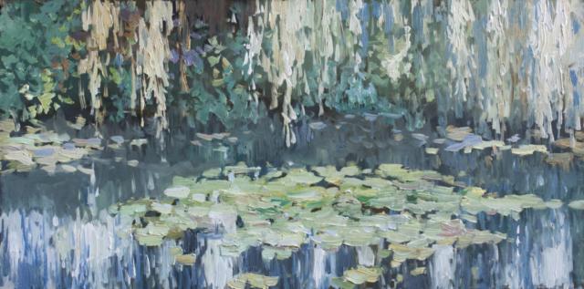 Евгений Щеглов «Ивы и кувшинки»