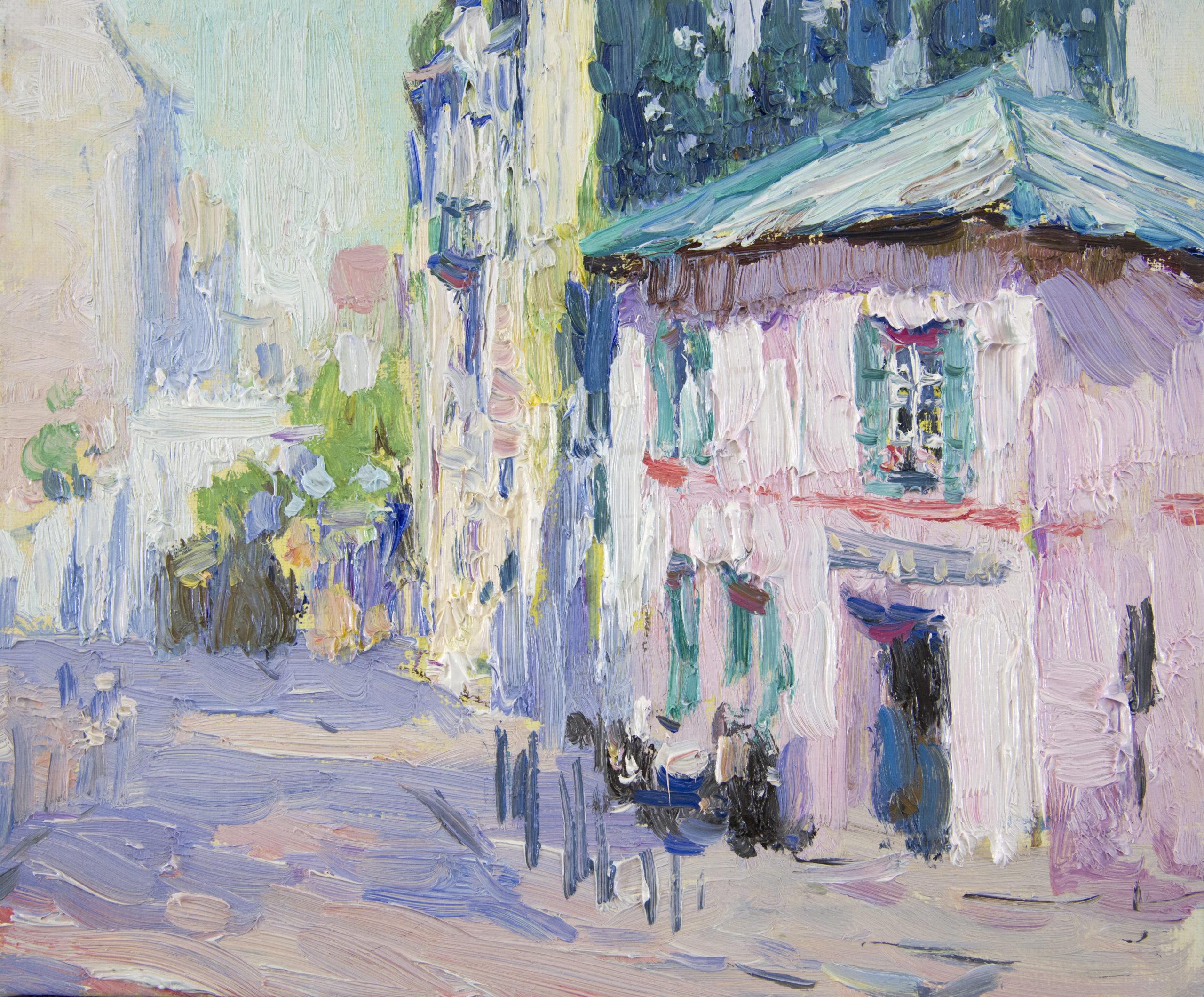 Евгений Щеглов «Недалеко от Монмартра»