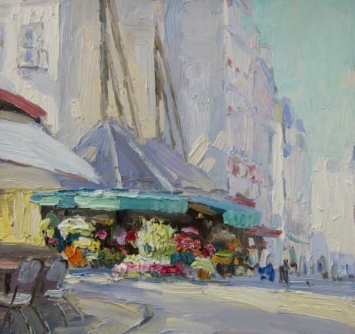 Евгений Щеглов «Цветочный магазинчик»