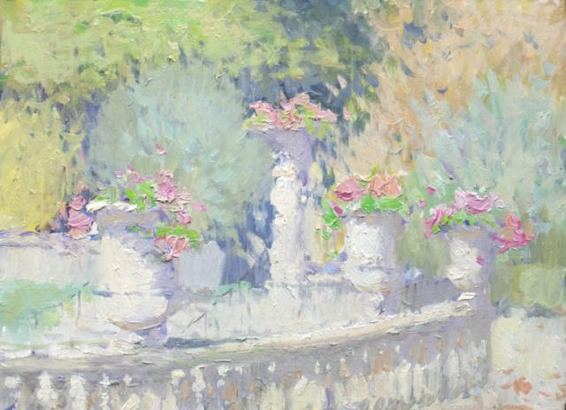 Евгений Щеглов «Вазы в Люксембургском саду»
