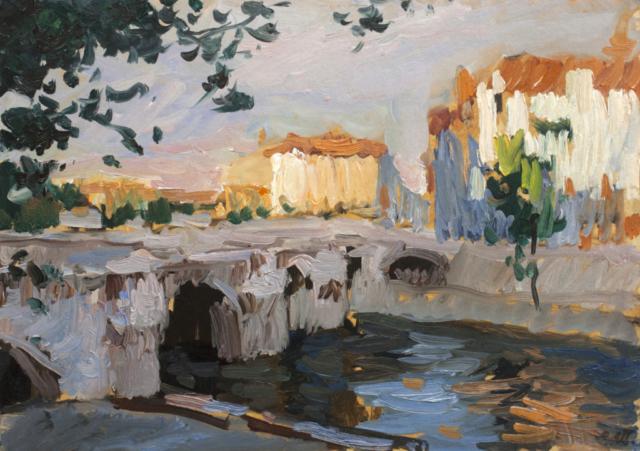 Евгений Щеглов «Парижский мост»