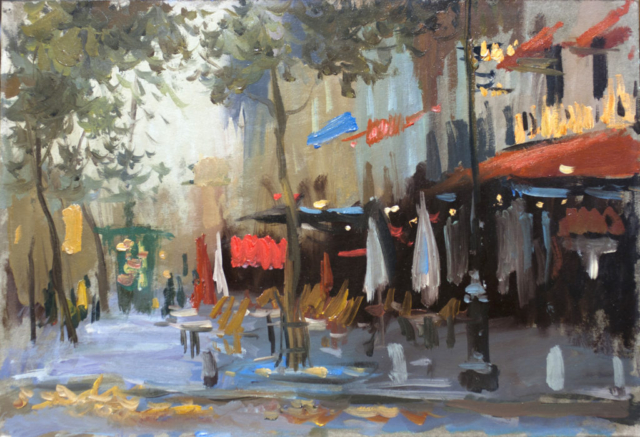 Евгений Щеглов «Парижский бульвар»