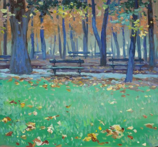 Евгений Щеглов «Осенний парк»