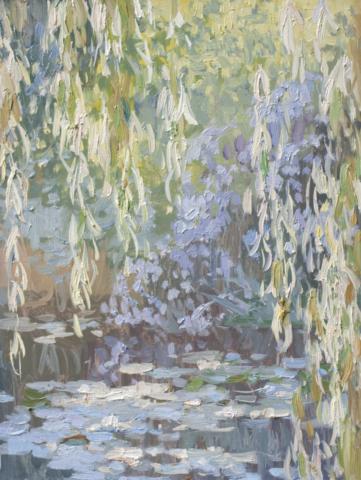 Евгений Щеглов «Ивы на солнце»