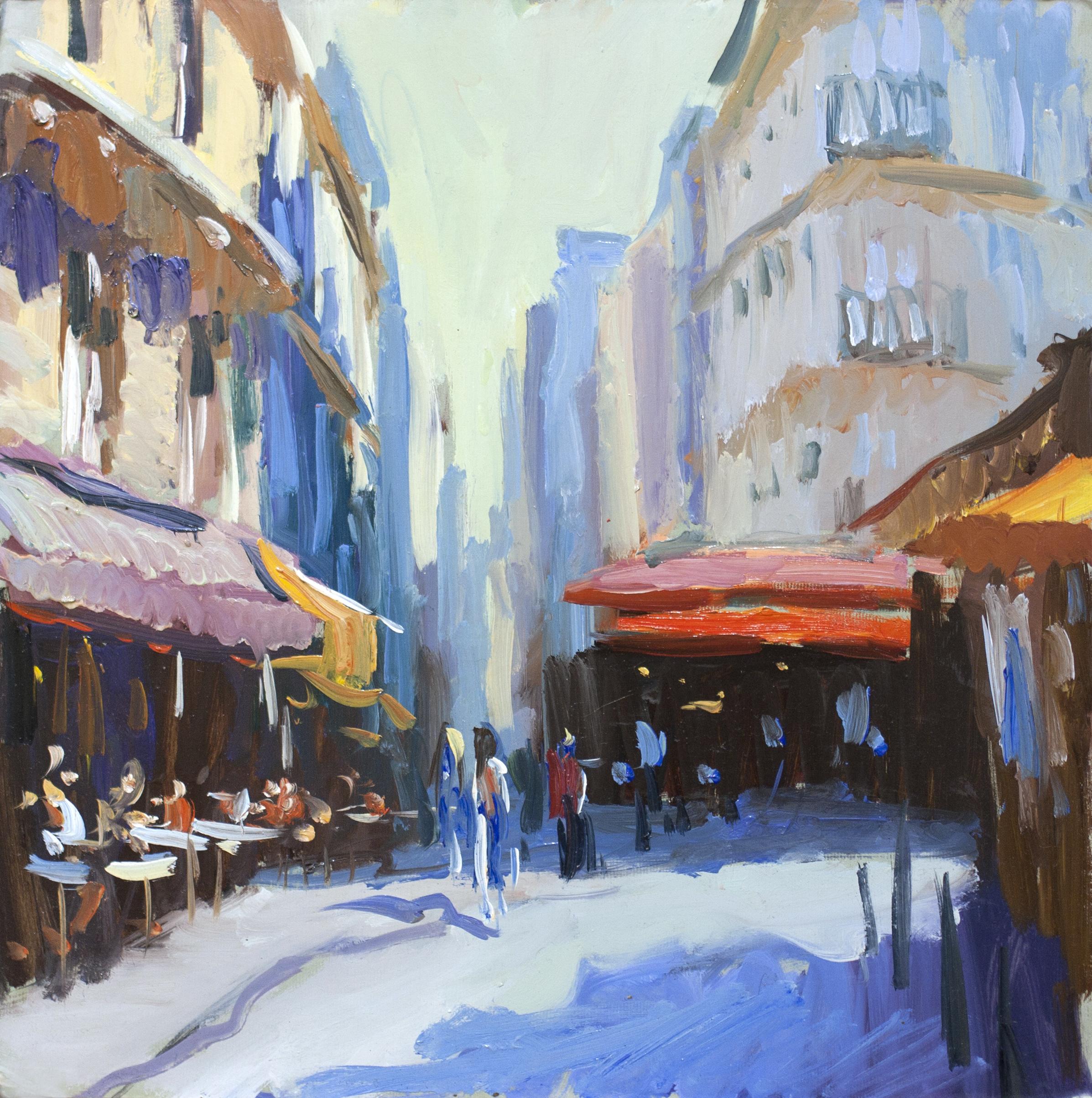 Евгений Щеглов «Улица на  Rive Gauche»