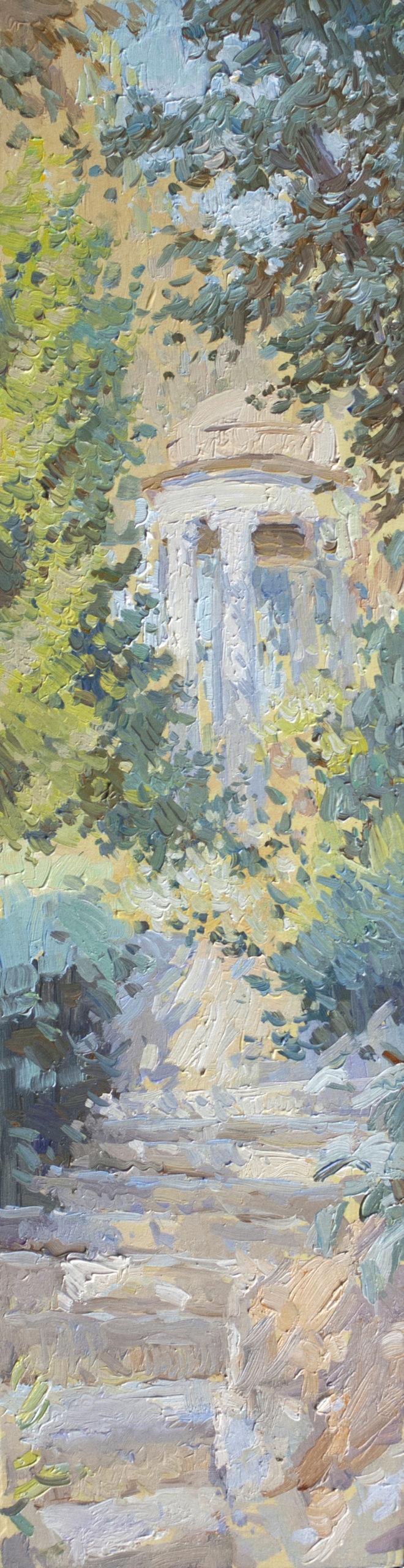 Евгений Щеглов «Лестница в парке Ротшильдов»